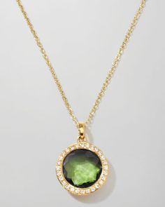Rock+Candy+18k+Gold+Mini+Lollipop+Necklace+in+Peridot+&+Diamond+by+Ippolita+at+Neiman+Marcus.
