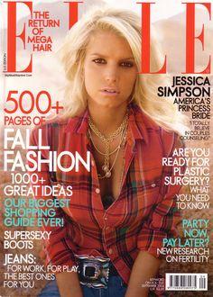 Jessica Simpson ELLE September 2004