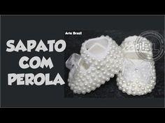 Sapatinho de pérolas - Passo a Passo - By Cris Albuque - YouTube