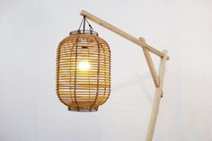 great lamp arm - and will last outside - make them to hand lights along path, or lanterns around fire pit