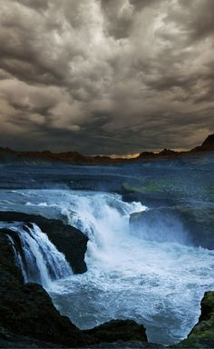 Incredible and dramatic waterfalls in Iceland!  Wow!