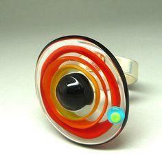 Handarbeit Mano Murano Glas Bijoux Kunsthandwerk Anhänger Murano-glas