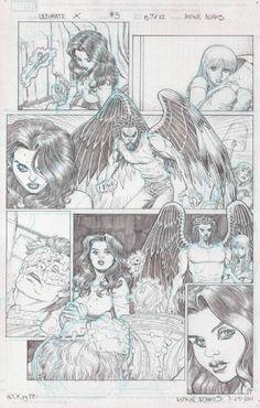 ARTHUR ADAMS - Ultimate X #5 pg.7, in EmilioLobato's Arthur Adams Comic Art Gallery Room - 984233