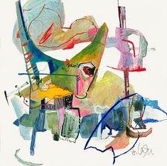 Ölpastell Arbeiten – Friederike Oeser Underwater, Outdoor Decor, Home Decor, Pastel, Abstract, Kunst, Decoration Home, Room Decor, Under The Water