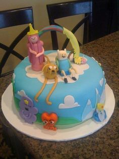 Adventure Time Cake | Adventure Time With Finn and Jake Addddventure cake