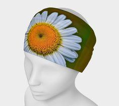 """Headband+""""White+Daisy+Headband""""+by+Scott+Hervieux+Photography,+Art,+and+More"""