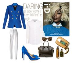 """DARING"" by yuliagural ❤ liked on Polyvore featuring Ivanka Trump, Balmain, Joseph, Calvin Klein, Givenchy and Vero Moda"