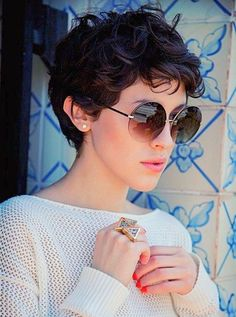 10.Short Curly Hairstyles