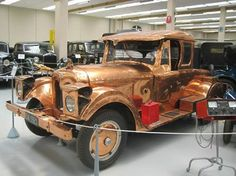 The 'Copper Car' (1920 Graham) from New Zealand https://www.facebook.com/groups/steampunktendencies/permalink/679883855399387/
