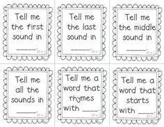 Transition task cards