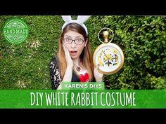 ▶ DIY White Rabbit Costume from Alice in Wonderland - HGTV Handmade - YouTube