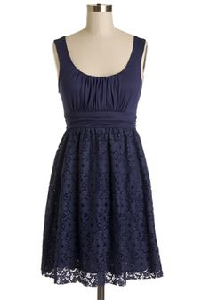 b53c305194 It s Swell Dress in Navy Navy Color