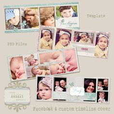 4 Timeline Covers vol1 by StudioBKey on Etsy, $16.00