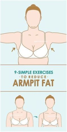 Regular exercises along with nutritious diet it the only way to reduce fat. Whatever we mentioned exercises to burn fat at armpit bra area are simple once.