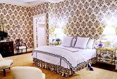 Black and tan | Aerin Lauder Bedroom