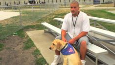 Another example of prisoner/dog relationships.  Let's create trust, healing, and the opportunity to make a difference.  THAT's one of the steps to help socialize inmates to successfully return to the outside. Leader Dogs for the Blind - Prison Puppy Raising Program