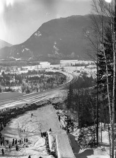 The Museum and Archives is a place where all are welcome to participate, to learn, to share, and to explore the social, industrial and environmental history of the region. Revelstoke Bc, Ski Jumping, Western Canada, Vintage Ski, Old Pictures, Trains, Skiing, Environment, Museum