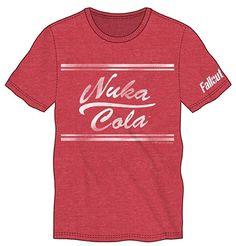 Nuke Cola Shirt - Fallout Shirt - Fallout 4 Costume - Fallout Clothing - Fallout Apparel - Fallout Gifts - Video Game Fashion