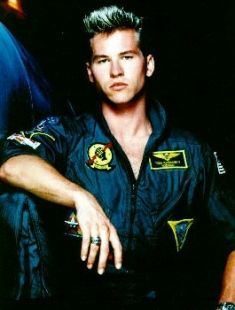 Val Kilmer in Top Gun #80s