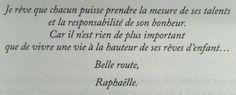 """""""Ta deuxième vie commence quand tu comprends que tu n'en as qu'une"""" Raphaëlle Giordano"""