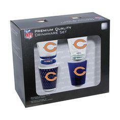 Chicago Bears 4-Pack Shot Glass Set