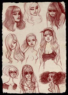 Doodle+Face+Dump+by+babsdraws.deviantart.com+on+@deviantART