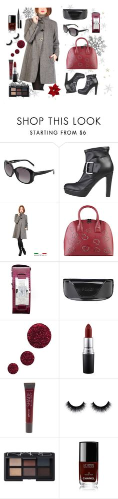 """""""Elegant"""" by thenorafashion on Polyvore featuring Topshop, MAC Cosmetics, Lane Bryant, NARS Cosmetics, Chanel and Marc Jacobs"""