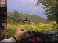 ▶ Heavy impasto Palette Knife painting by Alex Perez from 1999 Part-2 - YouTube