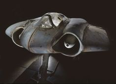 The Horten Ho 229 V3, an unfinished Nazi prototype all-wing jet aircraft
