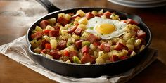 Breakfast and cast-iron skillets go together like potatoes and SPAM® Classic. Guess what? SPAM® Breakfast Hash has all four and more! Spam Breakfast Recipe, Breakfast Hash, Best Breakfast, Breakfast Recipes, Breakfast Ideas, Spam Recipes, Cooking Recipes, Deep Dish Pizza Pan