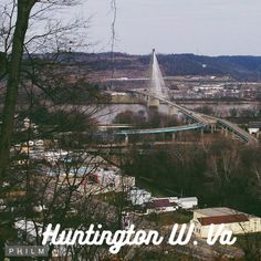Scenic View of Huntington WV @ Rotary Park Route 60