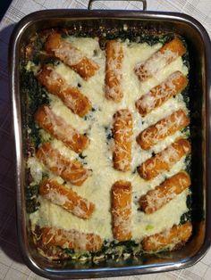 Spinat-Fischstäbchen Auflauf, ein sehr leckeres Rezept aus der Kategorie Fisch. Bewertungen: 215. Durchschnitt: Ø 3,8.