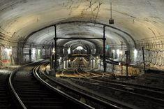 Maintenance Préventive, Trains, Saint Cloud, Train Tunnel, Metro Subway, Paris Metro, U Bahn, Public Transport, Claire