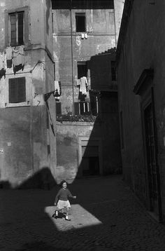 Rome,1959. Photograph by Henri Cartier-Bresson.