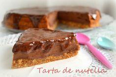 Cocina con Marta: Tarta de nutella (o nocilla)