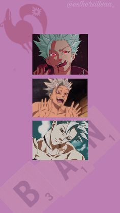 Best Friend Wallpaper, Dont Touch My Phone Wallpapers, Live Wallpaper Iphone, Naruto Wallpaper, Seven Deadly Sins Anime, 7 Deadly Sins, Anime Backgrounds Wallpapers, Animes Wallpapers, Anime Chibi