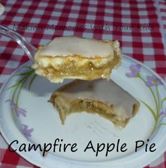 campfire apple pie - these are amazing!  And cooked over the campfire.