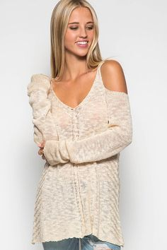 Taupe Cold Shoulder Sweater  - This is light weight and feels amazing! Looks great with all jeans!  - $43.00 ~ Wine Down with Haley @Statesville Store. ~ Clearance Sale Continues: * All Jeans, Jude, Gretchen Scott 40% off  * ALL Other Clothing ~ ALL BRANDS 30% off * All bath products 20% off  Mooresville & Statesville Stores Open 10-6 Friday