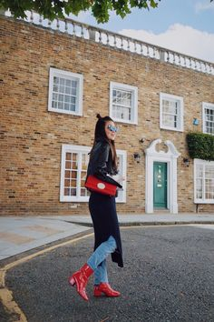 Street style outfit during LFW SS18 | SweetChiliFashion