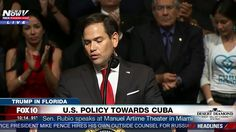 FULL SPEECH: Sen. Marco Rubio Speaks About President Trump's Plan for Cu...