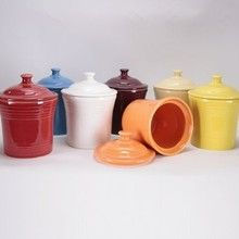 Fiesta® Dinnerware and Dishes, Fiestaware on Sale - DinnerwareUSA Jam Jar, Ball Jars, Homer Laughlin, Covered Boxes, Made In America, Canisters, Dinnerware, Kitchen Dining, House Design