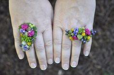 Leslie's botanical rings , workshop LA, Francoise Weeks
