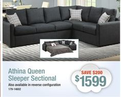 Tambora 2Piece Sofabed Sectional Drum Roll Please Presenting