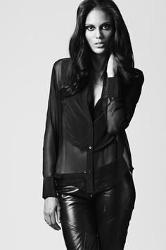 Ashley @Wilhelmina by Matt Miller in Cidenzi Mori FW12