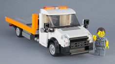 This neat Town-scaleVolkswagen Crafter flatbed recovery truck comes courtesy of Сергей Антохин of Flickr, and it's only missing a broken Peugeotfor maximum realism. Click the link above to …