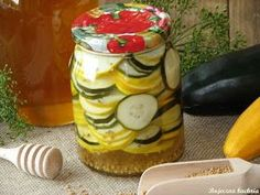 Pickles, Cucumber, Food And Drink, Pudding, Jar, Dinner, Recipes, Suppers, Puddings
