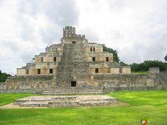 Zona Arqueológica de Edzná, Campeche