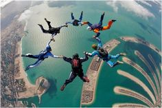 Skydiving .. must try at least once