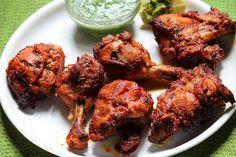 Microwave oven recipes for chicken tandoori Authentic Tandoori Chicken Recipe, Tandoori Recipes, Indian Chicken Recipes, Grilled Chicken Recipes, Indian Food Recipes, Ethnic Recipes, Honey Chicken, Cooked Chicken, Lemon Chicken