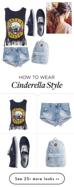 """""""Another Cinderella Story"""" by littlemissimperfect on Polyvore featuring One Teaspoon, Vans and Billabong"""
